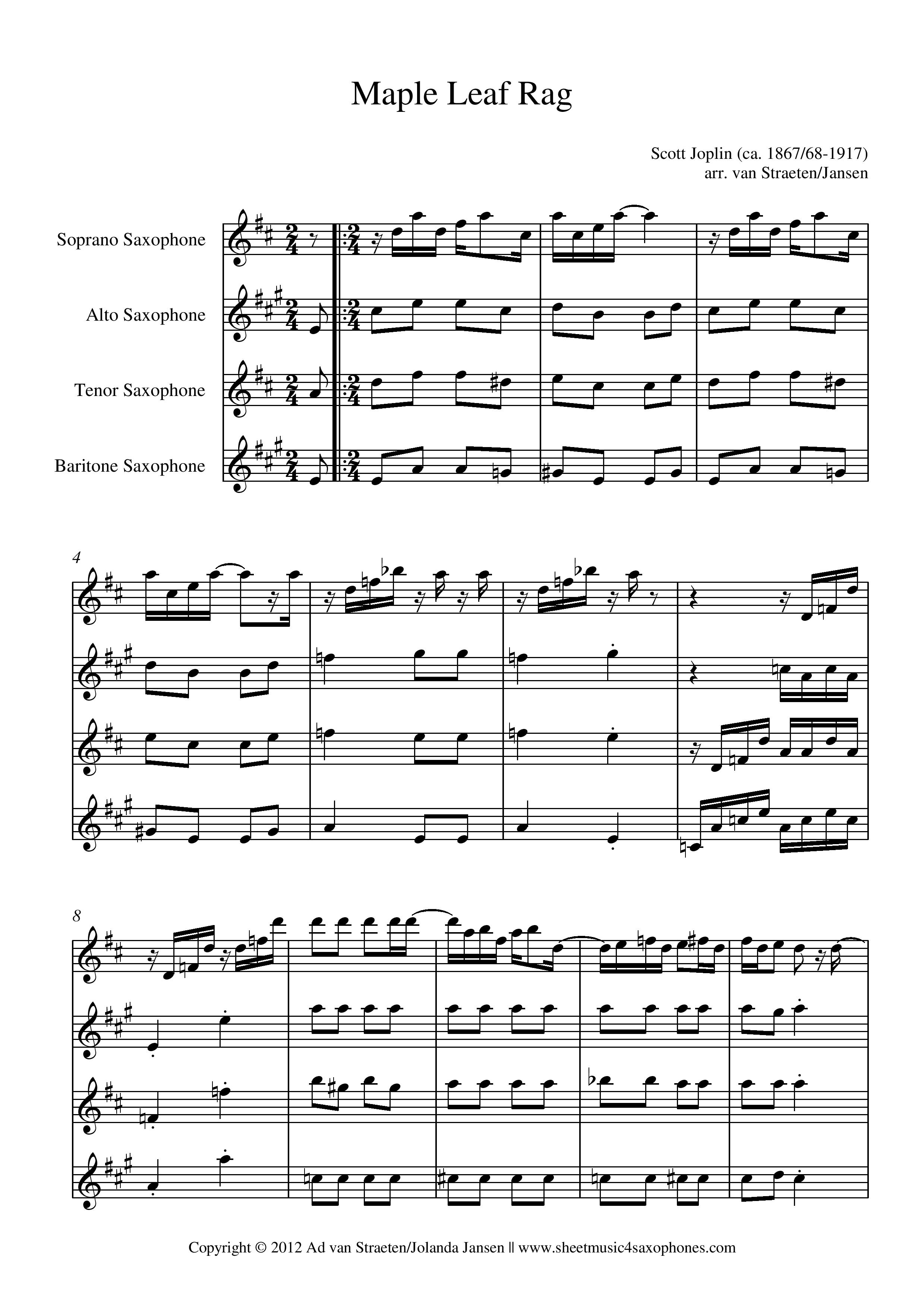 Maple Leaf Rag Pdf
