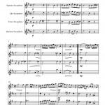 Mozart: Adagio for Glass Harmonica for Saxophone sheet music