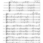 Pierpont: Jingle Bells for Saxophone Quartet AATB sheet music