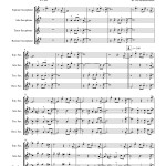 Pierpont: Jingle Bells for Saxophone Quartet SATB sheet music