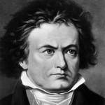 sheet music for Beethoven: Für Elise for Saxophone Quartet