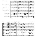Gonzaga: Gaúcho (Corta Jaca) for Saxophone Quartet sheet music