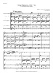 Mozart: String Quintet no 1 for SATTB